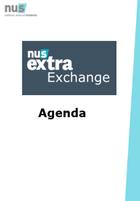 Nus extra exchange frontpage agenda