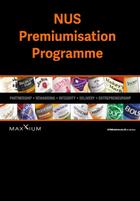 Nus premiumisation programme front cover