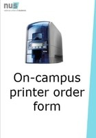 Oncampus printer order form resource cover