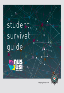 Student survival guide graphics