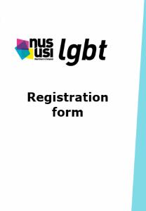 Nususi lgbt registration form frontpage