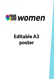 Nususi women a3 poster