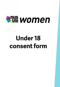 Nususi women conference under18consent frontpage