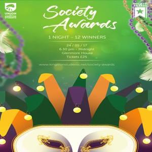 Society awards poster 2017