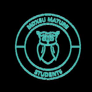 Mature student logo colour