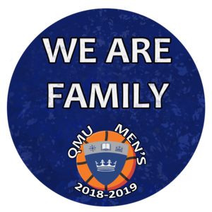 Basketball we are family sticker v2 2