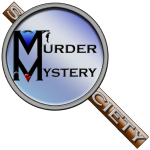 Murder mystery logo