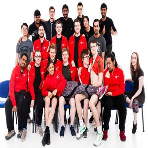Badminton club fun photo