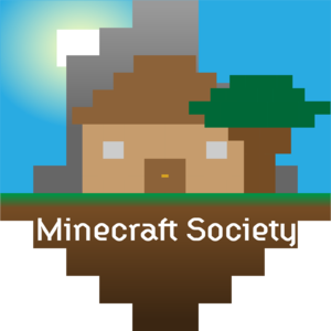 Minecraft society logo