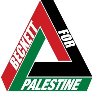 Beckett for palestine