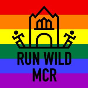 Run wild rainbow logo