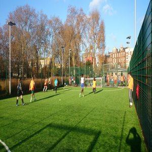 Football sunny