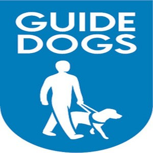 The guide dogs for the blind association logo