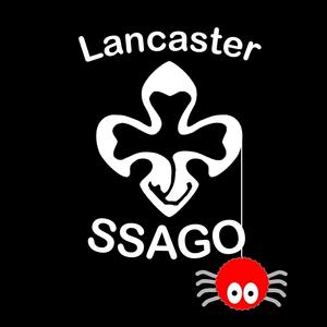 Lancaster ssago logo on black