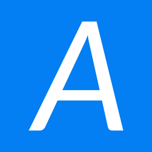 Aiesec logo square a white on blue
