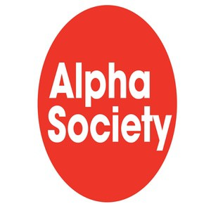 Alpha society logo