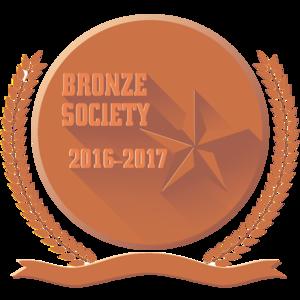 Bronze sqm emblem