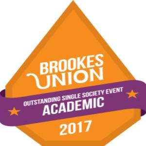 Brookesunion awards 2017 outstandingsinglesocietyeventacademic