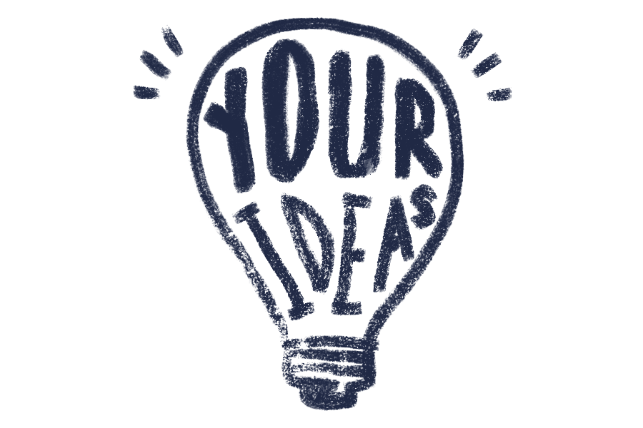 Your Ideas Banner