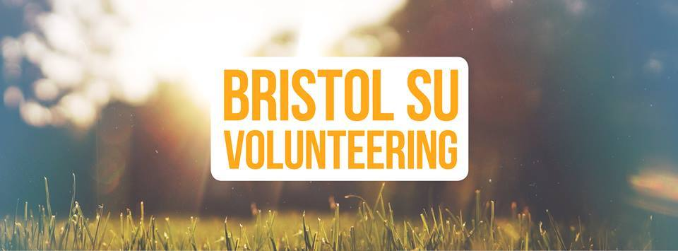 Logo of Bristol SU Volunteering in large.