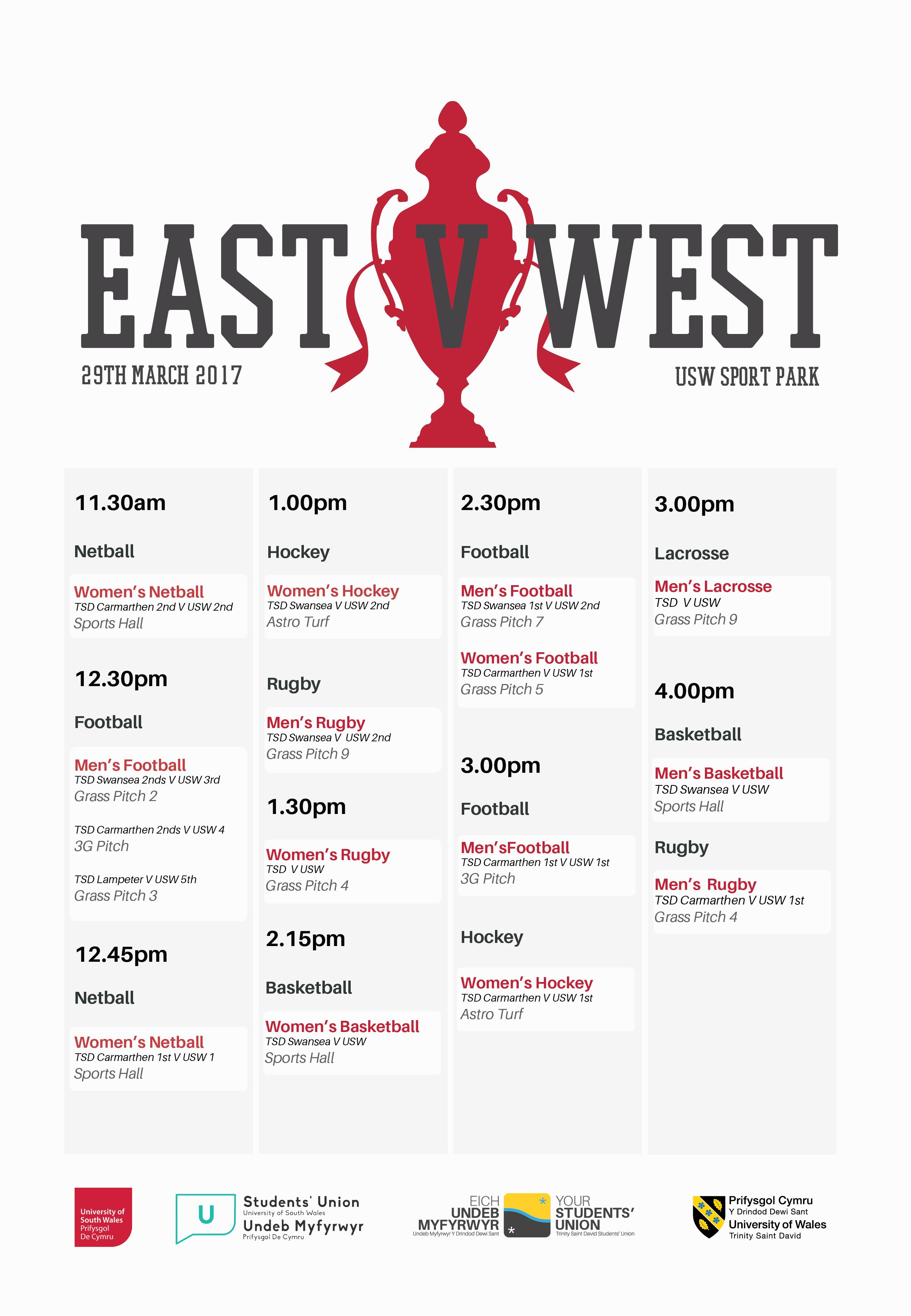 EAST V WEST