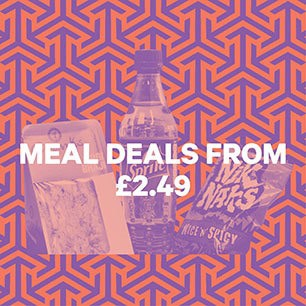Meal deals from £2.49