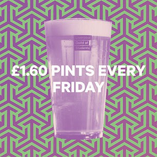 £1.60 pints every Friday