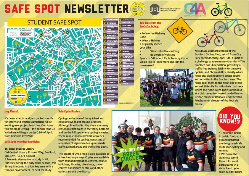 Safe Spot Newsletter - April 2017