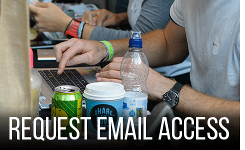 Request society email access.