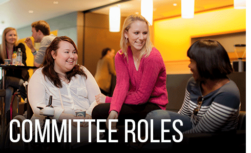 See an overview of committee roles.