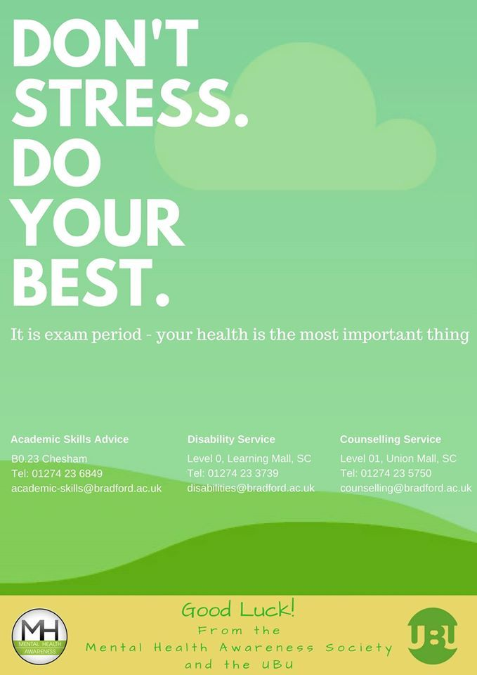 Don't Stress Poster