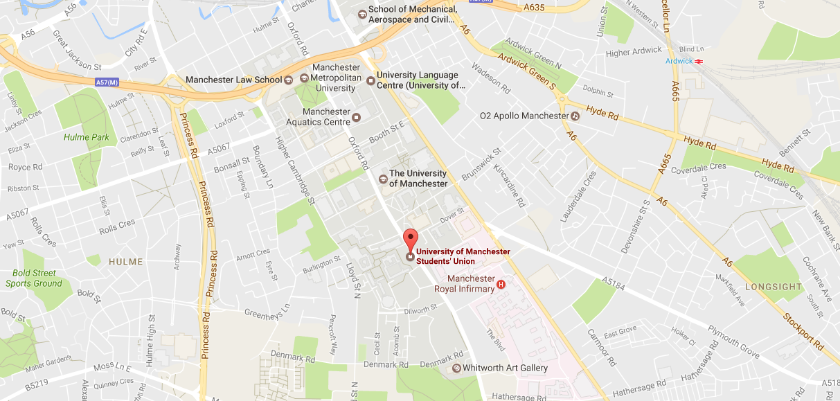 University Of Manchester Campus Map.Open Days University Of Manchester Students Union