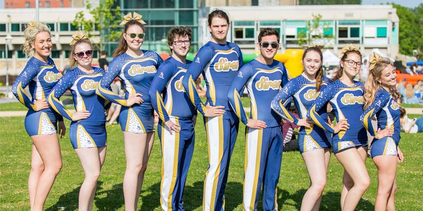 Salford Sirens Cheerleading Squad