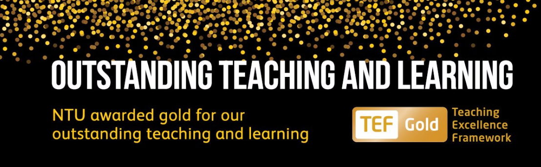 NTU Outstanding teaching and learning header image