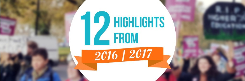 12 highlights from 2016 2017