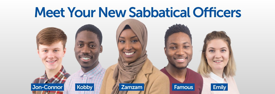 Meet Your New Sabbatical Officers