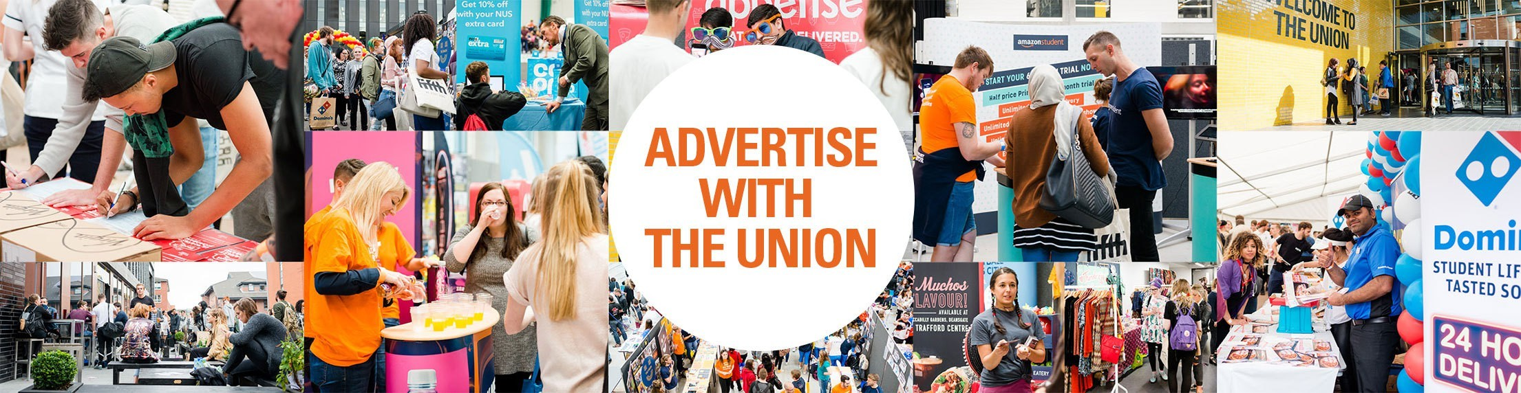 Advertise with the Union and students.
