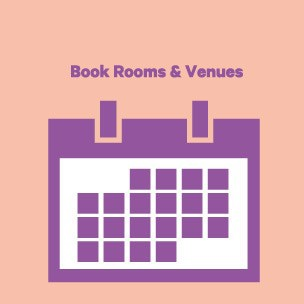 Book events & rooms