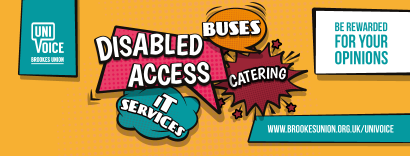 Uni Voice Brookes Union Disabled access bus catering It services