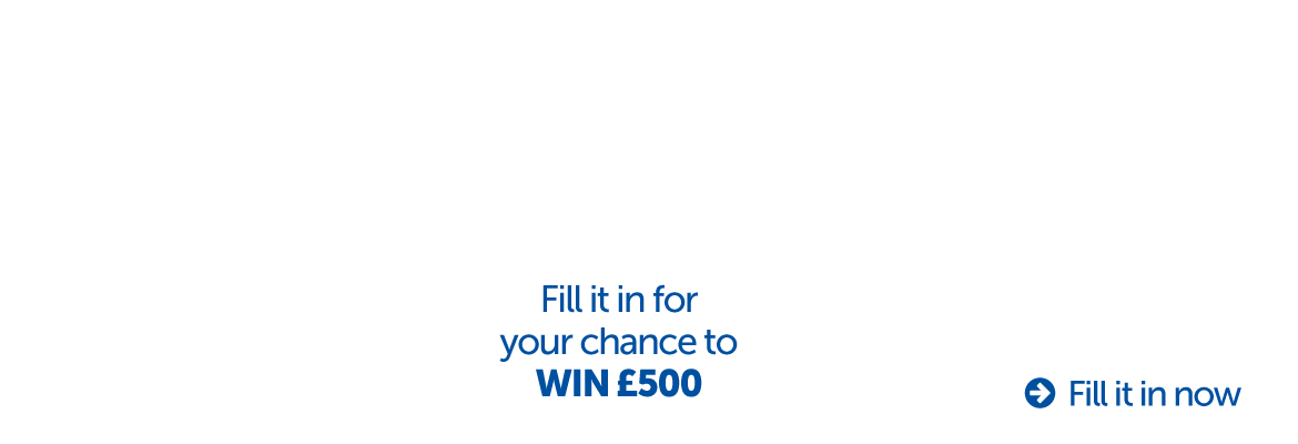 Complete the Student Wellbeing Survey for your chance to win £500