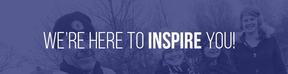 We are here to inspire you