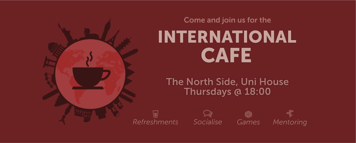 International Cafe Homepage Banner
