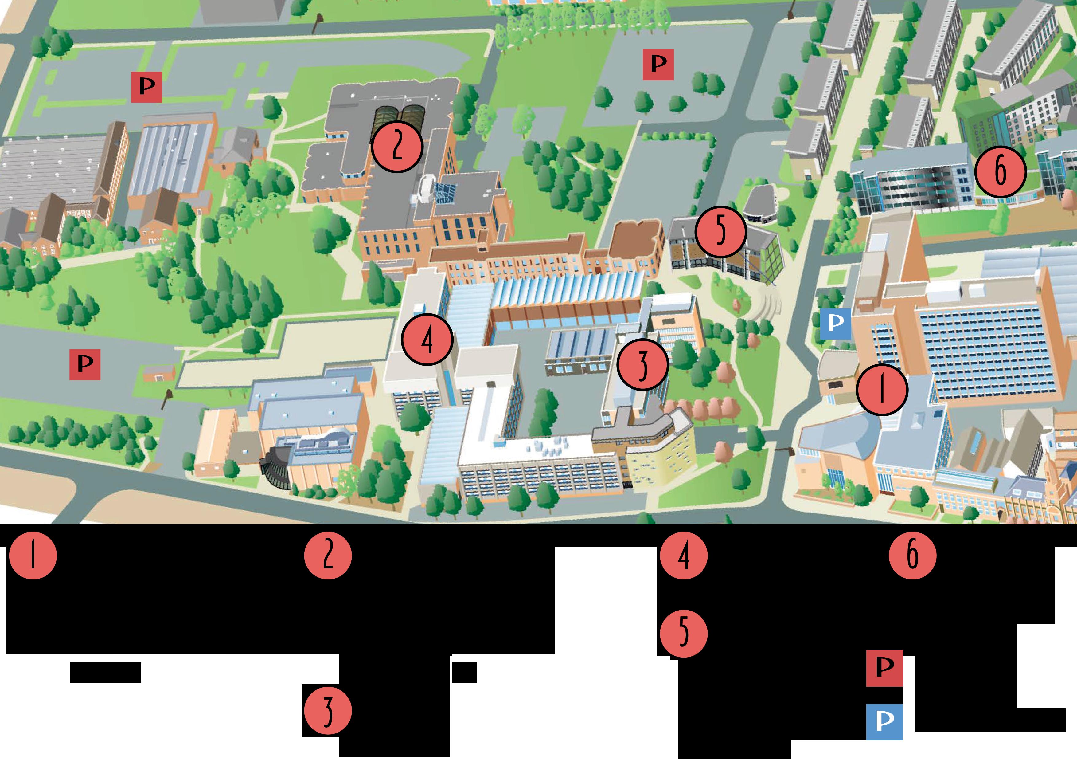 Campus Map @ University of Bradford Union of Students