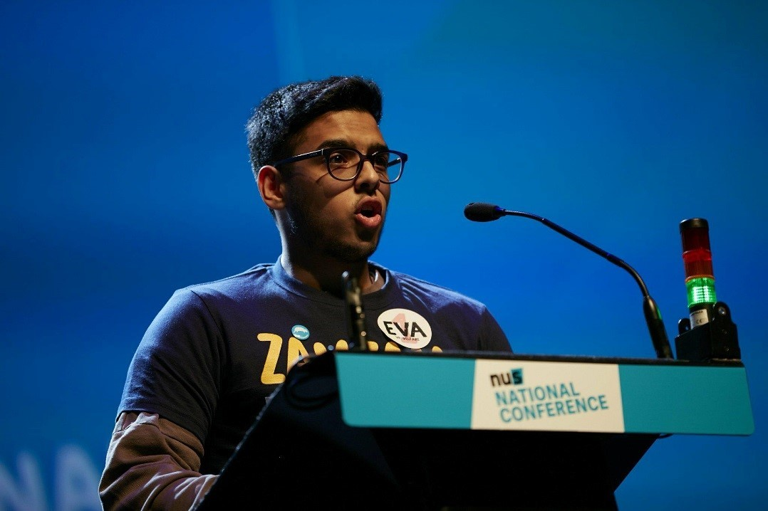 Hamza at the NUS Conference