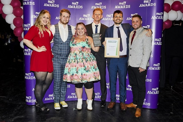 Wrexham Glyndwr Students' Union award winners
