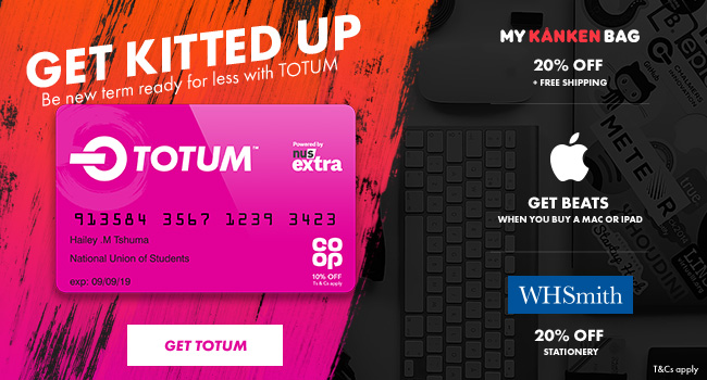 Nus Extra discount card from £12 for 12 months