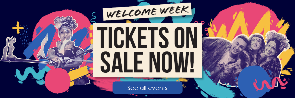 Welcome Week 2018 - tickets on sale