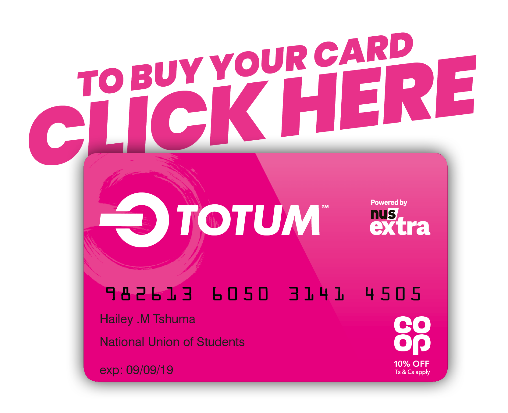 TOTUM Local Offers @ University of Central Lancashire
