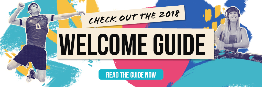 Welcome Week 2018 - The Guide