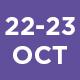 22-23 October